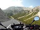 Motorradtour, Hahnentennjoch von Osten, Österreich