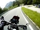 Motorradtour Kochel am See Richtung Walchensee, Bayern