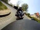 Motorradtour - L963 zur Burg Sternberg im Weserbergland.