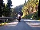 Motorradtour mit Freunden durch den Schwarzwald von Münstertal Richtung St. Blasien