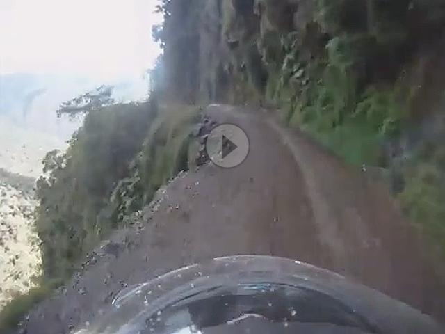 Motorradtour: Nur nicht stürzen ! Die berüchtige Road of Death in Bolivien