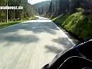 Motorradtour Schwarzwald: Bad Wildbad über Aichelberg zur B294 GoProHD