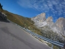 Motorradtour Sellajoch (Passo Sella), Dolomiten, Italien