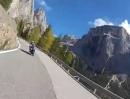 Motorradtour Sellajoch / Passo Sella (Italien) 2012