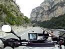 Motorradtour: Touet sur Var Richtung Georges Pompidou, Frankreich Seealpen