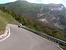 Motorradtour von Ampezzo zum Forcella di Monte Rest mit XT1200Z-Geschwader
