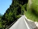 Motorradtour von Bischofshofen, B164 nach Mühlbach, Österreich