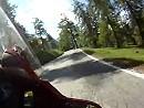 Motorradtour von Martigny auf den Col des Planches, Schweiz
