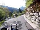 Motorradtour von Moggio Udinese über den Sella Carnizza (Italien, Slowenien)