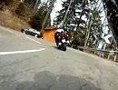 Motorradtour von Mosnang auf die Hulftegg (Schweiz) mit Honda CBF 1000 F