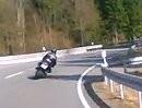 Motorradtour von Oberkirchen über B236 Richtung Winterberg