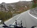 Motorradtour von Senj und Vratnik Pass in Kroatien