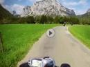 Motorradtour zum Grünen See in der Steiermark - Super Schnitt, geile Szenen