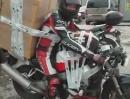Motorradtransport - Schnäppchenjagd mit Panzertape *rofl*