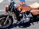 Motorradumbau Honda Goldwing = Kupferbolzen