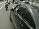 Motorradunfall: Abgeräumt von einem Vollidiot - Aufpassen bitte!