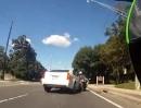 Motorradunfall: Gerammt weil Autofahrer zu dumm den Spiegel zu benutzen