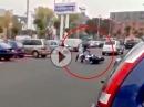 Motorradunfall: Brandneue Gixxer direkt nach dem Kauf geschrottet - Traum nach 20 Metern geplatzt