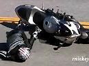 Motorradunfall in der Snake: Wer langsam fährt, kann trotzdem schnell fallen