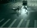 Motorradunfall: Fake, Übersinnliches, Teleportation?!