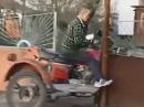 Motorradunfall Gespann: Probefahrt schlagartig gestoppt