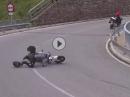 Motorradunfall: Gewunken gelacht und lang gemacht - Urlaubslaune weg
