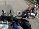 Auffahrunfall Linksabbieger: Varadero rammt XT1200Z - gepennt, Crash