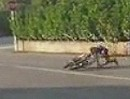 Motorradunfall Schürfing: Beim nächsten Mal zieht der lange Hosen an! Garantiert