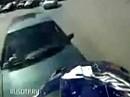 Motorradunfall: Vorfahrt genommen - Sturz selbst gefilmt