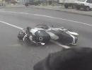 Motorradunfall: Wer auf dem Mittelstreifen fährt, fährt nicht selten unbeschwert