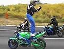 Motorradvideo drehen (ROC) - alles muss man selber machen - geiler Stunt (Christ)