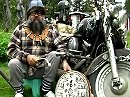 Motorradzauberer - was es nicht alles gibt - es lebe die Kraft der Magie