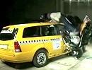 Motorroller Crash mit 55km/h Crashtest beweist: Keine Chance für den Fahrer