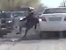 Motorroller Crash mit Fahrerflucht - Wo kam der auf einmal her, und wo isser hin?