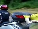 Motorroller Honda Silver Wing Pyrenäen Tour mit Shrek