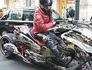 Motorroller Majesty Custom: Einmal ALLES was geht bitte - mit Rakete