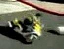 Motorroller Unfall - Wenn ein Brett vom Himmel fällt ...