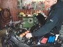 MotoTech Rennmotorrad - How To: Auspuffanlage, Airbox, Kurbelgehäuseentlüftung, Luftfilter