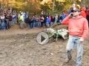 MotoX Crash vs. Telefonsucht. DAS ist cool Määnn