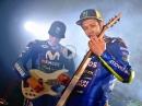 Rockt! Movistar Yamaha MotoGP Team 2018 Präsentation: YZR-M1, VR46, MV25