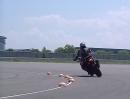 MSC - Bosch Motorrad-Stabilitätskontrolle: Hinterrad-Bremsung bei Schräglage