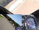 Mugello 1.Nov 2009 Vergleichsfahrt Hayabusa