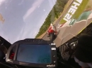 Bäämm: Mugello onboard nach vorne BMW S1000RR 2:00,5 Hesi | 313 kmh GPS