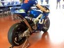 Mugello Suzuki MotoGP Test - Sound auf die Ohren, Warmup
