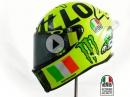 'Mugiallo' Valentinos Rossi Mugello 2016 AGV-Helm von Drudi Performance