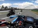 Murtanio Kawasaki ZX-10R onboard Hockenheim - nach 7 Monaten auf neuem Bike