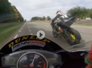 Murtanio (Yamaha R6) onboard Chimay Highspeed Road Race 2018