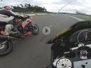 Murtanio, Yamaha R6 onboard Hockenheim 1:53 und 1000ccm Battle