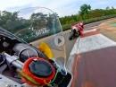 Murtanio Zolder onboard Yamaha R6 Geht steil - Top