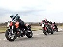 MV Agusta Brutale vs. KTM Super Duke vs. Ducati Streetfighter